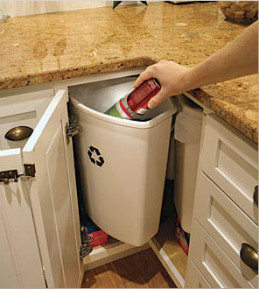 Угол в кухонной мебели