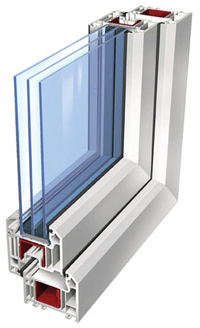 Из чего сделаны пластиковые окна