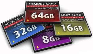 Карты памяти - CompactFlash (CF)