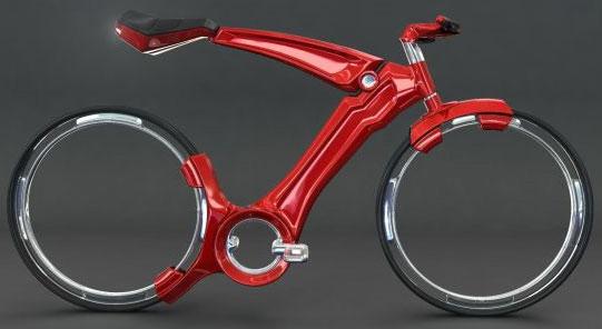 Велосипед от дизайнера Джона Вилларрила (John Villarreal)