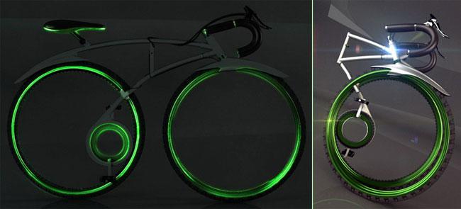 «Lean». Горный велосипед от дизайнера Аллан Честер Г. Чжан